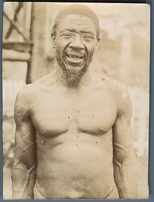 Congo, Vieux Type Congolais: Photographie originale /