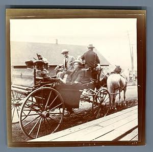Canada, Acadia, Témiscouata Railway: Photographie originale /
