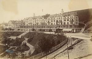 Grand hôtel, à identifier: Photographie originale /