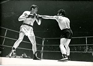 Boxe, Billy Walker (Angleterre) contre Karl Mildenberger (Allemagne)