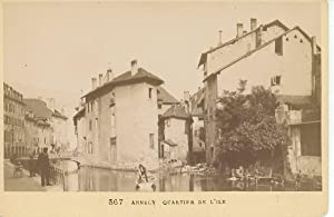 Auguste Pittier, France, Annecy, Quartier de l'Ile