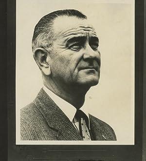 Lyndon B. Johnson, 36th President of the: Photographie originale /