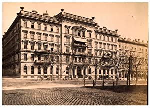 Autriche, Wien, Le Grand Hôtel: Photographie originale /