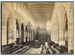 Angleterre, Coventry, Interior of Saint Michael's Cathedral