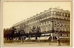 France, Paris, le Grand Hôtel: Photographie originale /