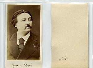 Gustave Doré Illustrateur, graveur, peintre et sculpteur: Photographie originale /