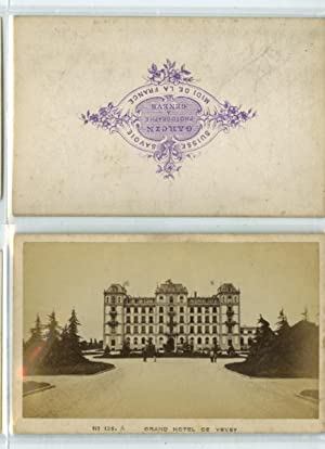 Suisse, Vevey, Grand Hôtel: Photographie originale /