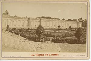 France Versailles Le Grand Trianon La Térasse