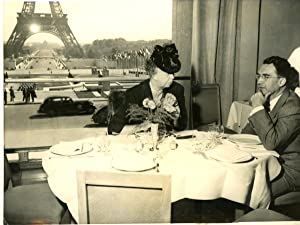 Paris, Madame Franklin Roosevelt et Mr Durward