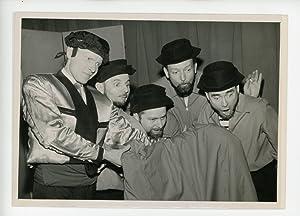 Gérard Séty et les Quatre Barbus dans: Photographie originale /