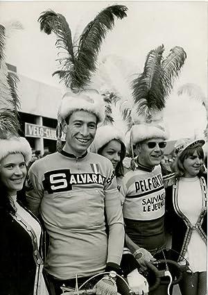 Cyclisme, Felice Gimondi et Jan Janssen au: Photographie originale /
