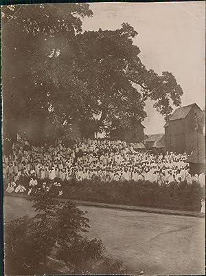 Madagascar, Kabary à Tananarive, 1913: Photographie originale /