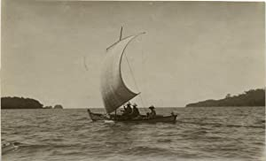 Malaisie, fishing sailboat