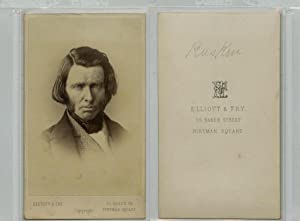 Elliot & Fry, London, John Ruskin, British writer, poet, painter, art critic