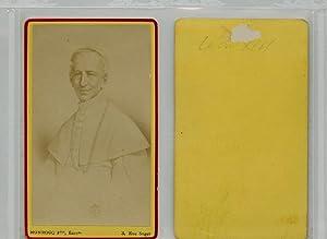 Monrocq, Le Pape Léon XIII: Photographie originale /