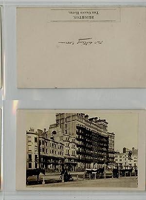 Brighton, The Grand Hotel: Photographie originale /