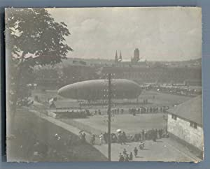 France, Rouen, Zeppelin