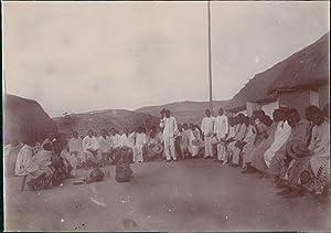 Madagascar, Un Kabary, 1901: Photographie originale /
