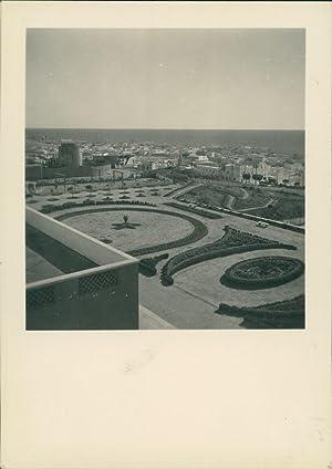 Maroc, Safi, Vue prise de l'Hôtel Marhaba: Photographie originale /