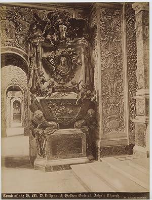 Agius, Malta, Tomb of the G. M.: Photographie originale /