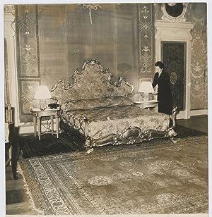 Italia, Roma, Grand Hôtel: Photographie originale /