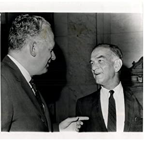USA, Washington, George Bill and William Fulbright