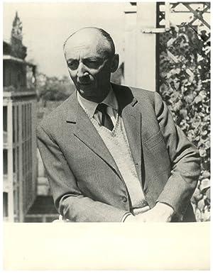 Italie, Luigi Rossari, Ammnistratore delegato della Pirelli: Photographie originale /
