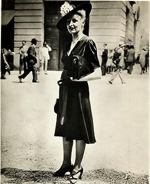 La Mode aux Courses: Photographie originale /