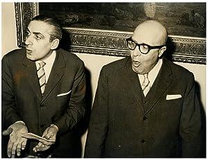Italia, Dott. Zamparelli e il questore La: Photographie originale /