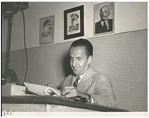 Italia, Regista Luigi Zampa: Photographie originale /