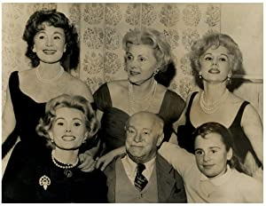 Gabor Family in Vienna, Magda, Zsa Zsa, her father and Franziska, her daughter