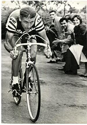 Le champion cycliste Jacques Anquetil