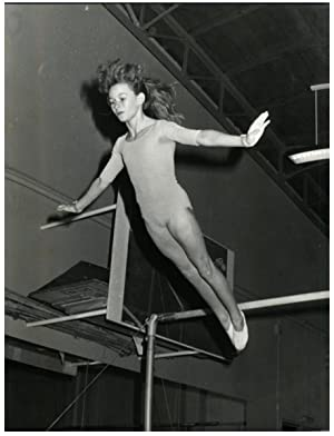 France, Veronique Sanguinetti, gymnaste