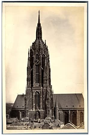 Frith's Series, Deutschland, Frankfort a.M., Cathedral