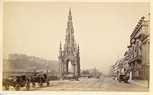 G.W.W., UK, Edinburg, Scott's Monument and Princes S.T.