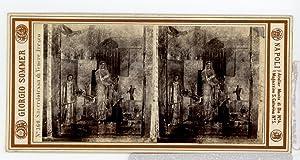 Giorgio Sommer STEREO Italie Fresque Sacerdotessa di: Photographie originale /
