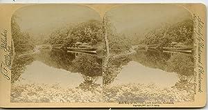 STEREO Ecosse Edimbourg Lac Katrine Vapeur Rob: Photographie originale /