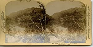 STEREO Ecosse Lac de Katrine Vapeur Rob: Photographie originale /