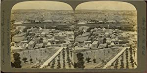 STEREO Palestine, Jerusalem, Seen from Summit of the Mont of Olives