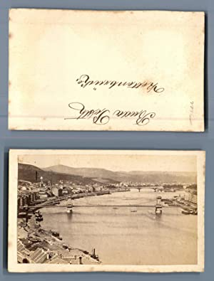 Hungary, Budapest, Panorama over the Danube