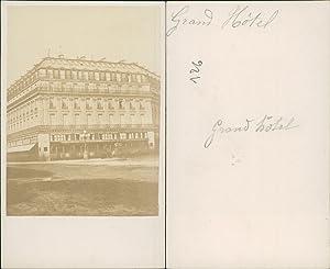 Paris, Grand Hôtel: Photographie originale /