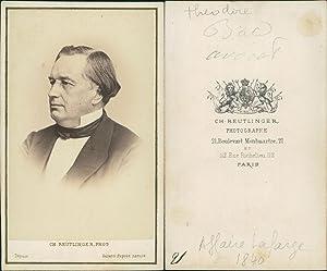 Théodore Bal, avocat: Photographie originale /