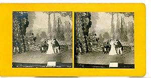 STEREO Scène de genre Ambigu Gigolette Les: Photographie originale /