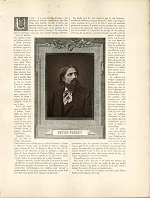 France, Augustin Feyen-Perrin, peintre, graveur, illustrateur et: Photographie originale /