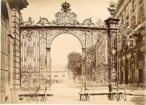 France, Nancy, Place Stanislas, Vue sur la Place