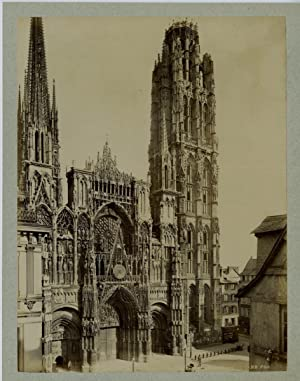 ND. Phot. France, Rouen, la cathédrale