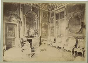 France, Hotel, Lauzun, Grand salon, côte de la cheminée