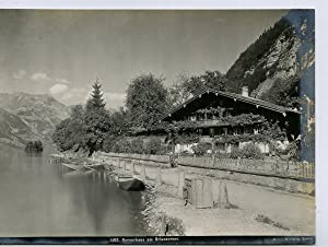Suisse, Bernerhaus am Brienzersee