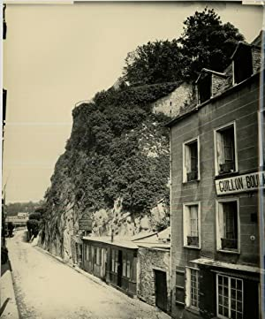 ND. Phot. France, Saint Lo, Le Rocher de la Poterne