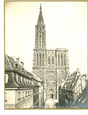 ND. France, Strasbourg, La Cathédrale